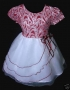 Baby Girls Christmas party pageant dress 1-2 yr