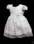 Baby Girls Christening party dress a 12-24 mth