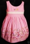 Baby Girls birthday party pageant dress 9-18mt