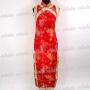Cheongsam Evening Gown Wedding Dress Red