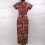 Cheongsam Evening Gown Bridesmaid Purple
