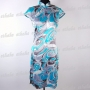 Chinese Cheongsam Evening Party Mini Dress