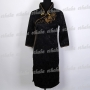 Chinese Elegant Mini Dress Cheongsam Black