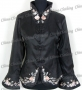 Chinese Embroidery Elegant Jacket Black