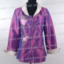 Chinese Embroidery Peony Jacket Purple
