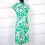 Chinese Girls Floral Cheongsam Mini Dress