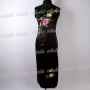 Chinese Party Cheongsam Evening Gown Black