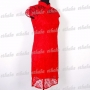 Chinese Wedding Laces Mini Dress 2pcs