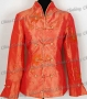 Embroidery Brilliant Jacket Orange