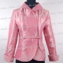 Embroidery Party Prom Jacket Satin Pink