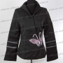 Noble Embroidered Butterfly Jacket Black