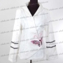 Noble Embroidered Butterfly Jacket White