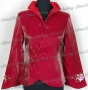 Noble Embroidery Women Jacket/Blazer Red