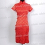 Tradition Floral Mini Dress Cheongsam