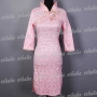 Tradition Yarn Button Mini Dress Cheongsam
