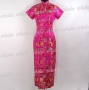 Traditional Chinese Cheongsam Gown Rose