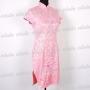 Vintage Cheongsam Embroidery Mini Dress
