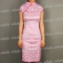 Women Cotton Mini Dress Cheongsam