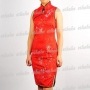 Women Sleeveless Mini Dress Cheongsam